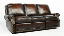 35-6600 Premier II Sofa (Leather) 5407-41 Stetson Coffee