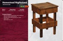 Barnwood Homestead Nightstand