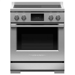 "FISHER & PAYKELInduction Range, 30"", 4 Zones with SmartZone, Self-cleaning"
