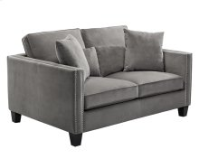 Cathedral Loveseat - Grey