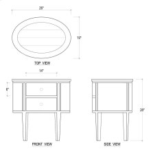 Lou Lou Bedside Cabinet