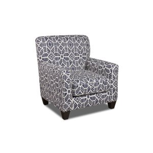 American Furniture Manufacturing1010 - Ribble Vintage Indigo Accent Chair
