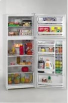 Model FF1008W - 10.0 Cu. Ft. Frost Free Apartment Size Refrigerator/Freezer - White Product Image