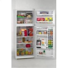 Model FF1008W - 10.0 Cu. Ft. Frost Free Apartment Size Refrigerator/Freezer - White