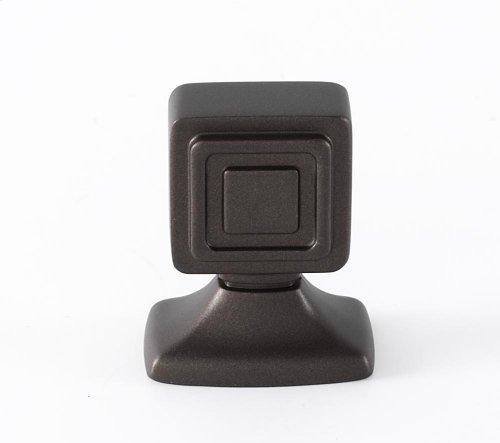 Cube Knob A986-1 - Chocolate Bronze