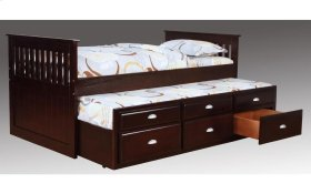 Logan Merlot Captain's Bed