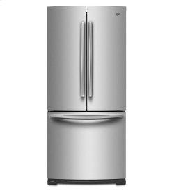 19.6 cu. ft. French Door Refrigerator with Strongbox Door Bins
