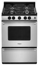 24-inch Freestanding Gas Range with Sealed Burners Product Image