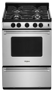 24-inch Freestanding Gas Range with Sealed Burners