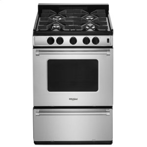 Whirlpool24-inch Freestanding Gas Range with Sealed Burners