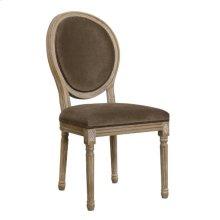 Nutella Velvet Dining Chair