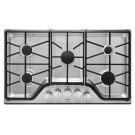 36-inch 5-burner Gas Cooktop with DuraGuard Protective Finish Product Image