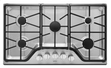 36-inch Wide Gas Cooktop with DuraGuard Protective Finish