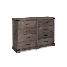 "Montauk 8-Drawer Dresser, Montauk 8-Drawer Dresser, 62"","