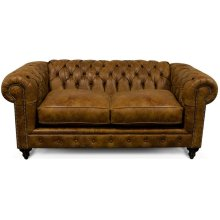 Leather Lucy Loveseat 2R06AL