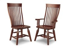 Florence Side Chair With Wood Seat Only