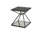 Wedge End Table - Black Product Image