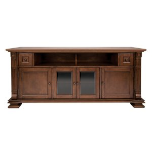 Bell'oMocha Finish Wood Home Entertainment Cabinet