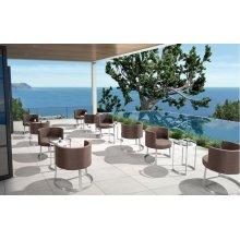 Renava Ensenada Outdoor Brown Chair & Table Set