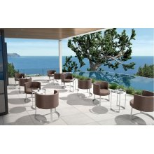 Renava Ensenada Outdoor Brown Chair & Table Set