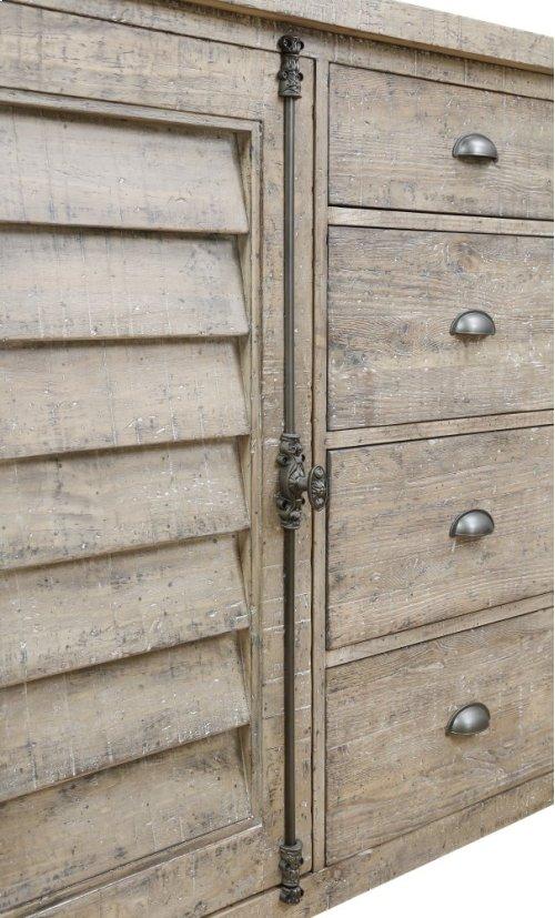Emerald Home Interlude Server Sandstone D560-50