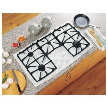 """Out of Box Display Model GE Profile Series 36"""" Built-In Gas Cooktop"""