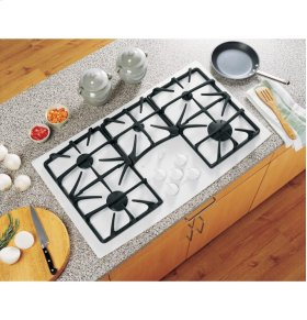 "Out of Box Display Model GE Profile Series 36"" Built-In Gas Cooktop"