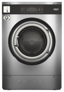 Commercial Multi-Load Soft-Mount Washer, Vended 40lb