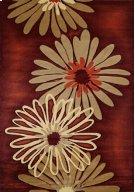 Contours Dahlia Terracotta Rugs Product Image