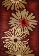 Contours Dahlia Terracotta Rugs Product Image