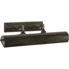Visual Comfort AH2702GM Alexa Hampton Dean 80 watt 20 inch Gun Metal Plug-In Picture Light Wall Light