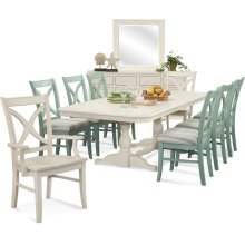 Hues Trestle Dining Room Set