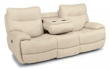 Evian Leather Power Reclining