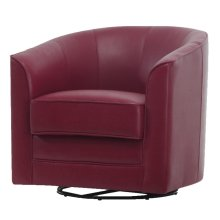 Emerald Home Milo Swivel Chair Red U5029c-04-02