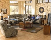 "Power ""Lay Flat"" Recl Sofa w/3x DDT - Elk Product Image"