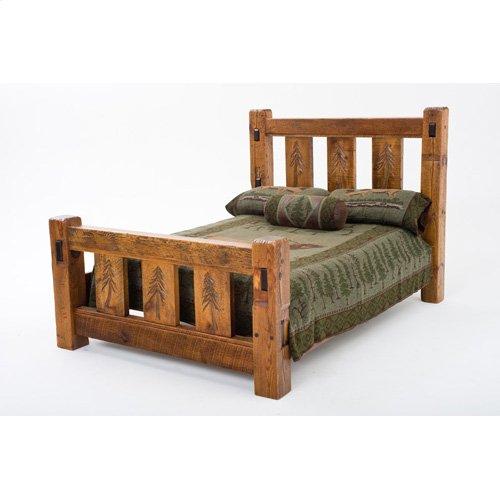 Sequoia Bed - 15661 - Queen Bed (complete)