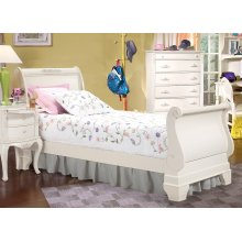 French Style Sleigh Bed