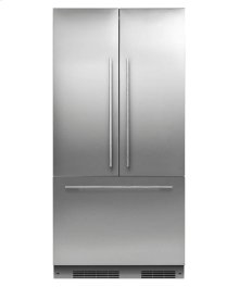 """ActiveSmart Refrigerator 36"""" French Door Integrated with ice - 72"""" Tall"""