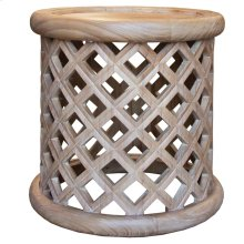Lamp Table, Available in Coastal Brown or Coastal Grey Finish.