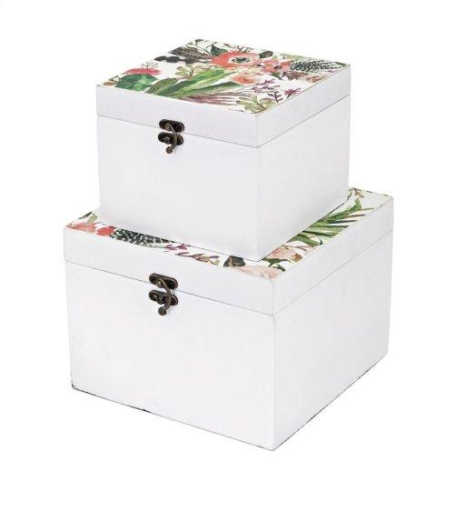 Gardenia Boxes - Set of 2