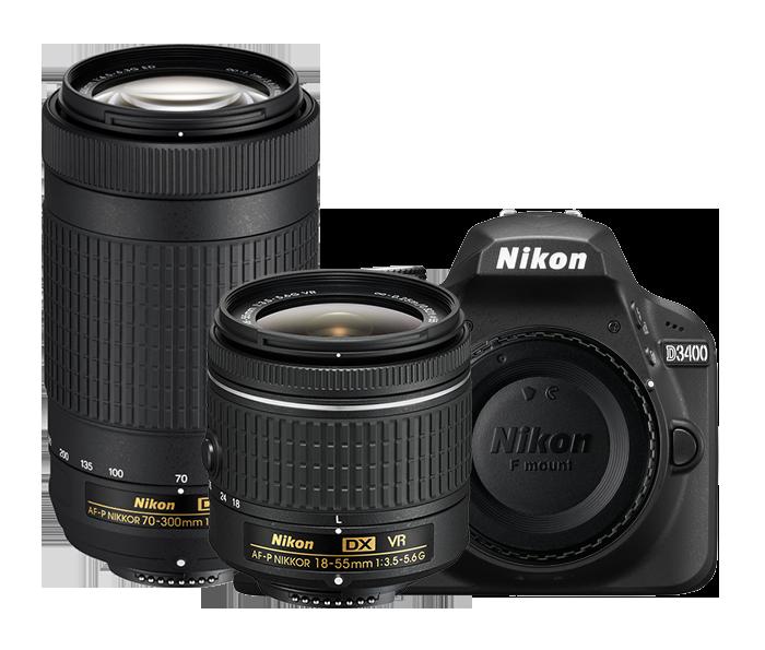 Two Lens Kit, Black  BLACK