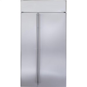 "MonogramMonogram® 42"" Built-In Side-by-Side Refrigerator"
