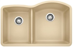 Blanco Diamond 1-3/4 Bowl Reverse With Low-divide - Biscotti