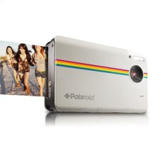 Polaroid 10-Megapixel Instant Print Digital Camera Z2300W with ZINK Zero Ink Printing Technology, White