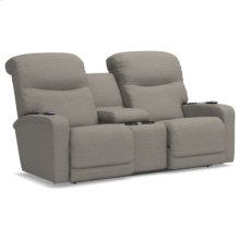 Levi Power Wall Reclining Loveseat w/ Console, Headrest & Lumbar