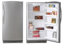 Natural Silver 15.8 Cu. Ft. Upright Freezer
