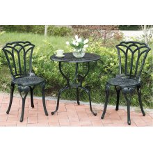 3 Piece Patio Bistro Set