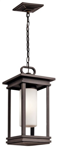 "South Hope 9"" Fluorescent Pendant Rubbed Bronze"