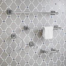 TS Series 24 Inch Towel Bar - Polished Chrome