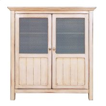 2 Wire Door Armoire